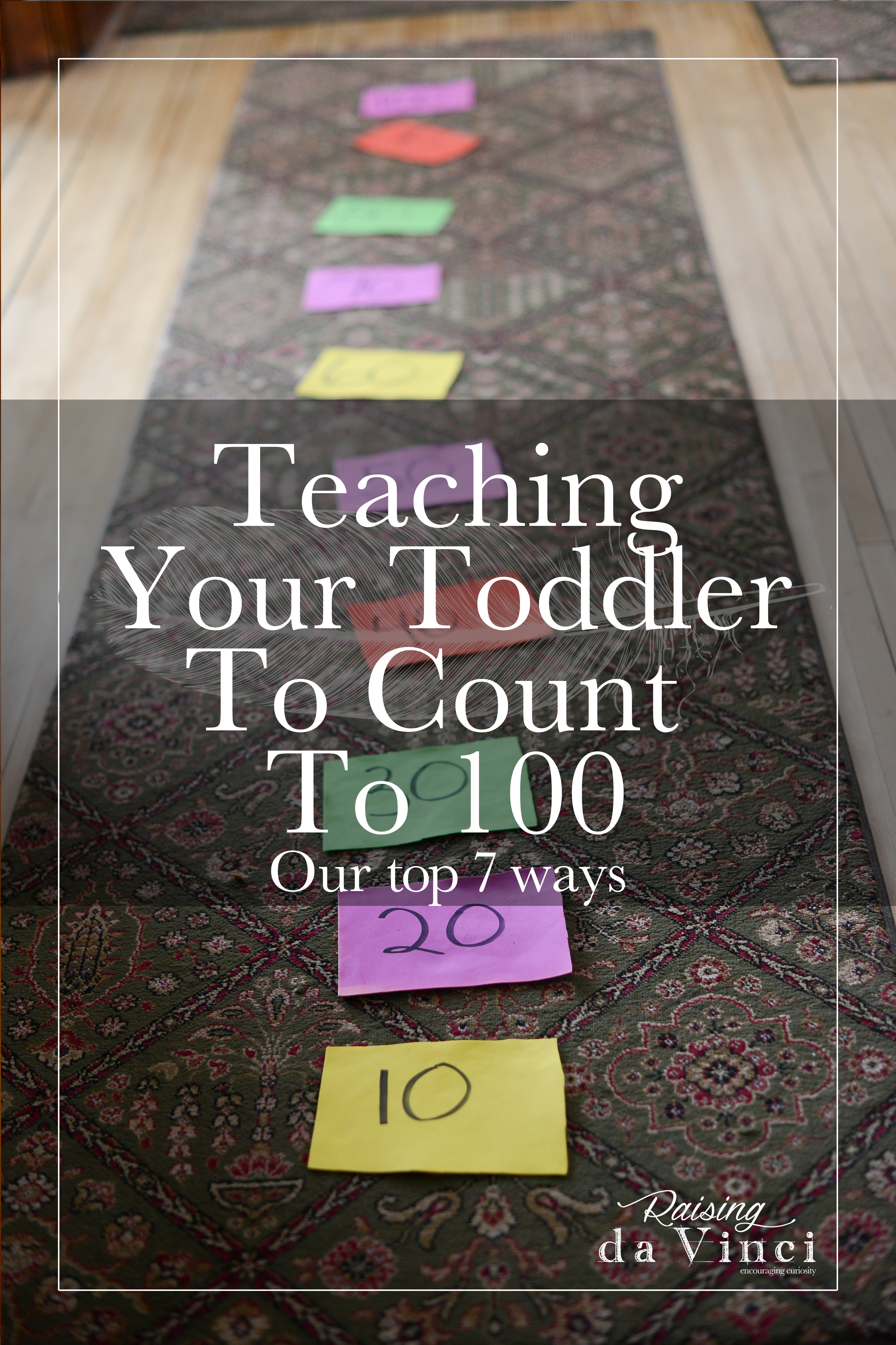 Top 7 Ways To Teach Counting To 100